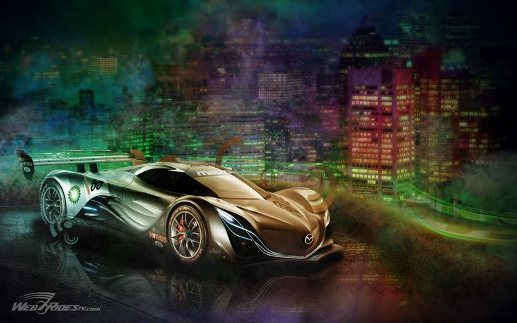 The Amazing Mazda Furai Concept Car