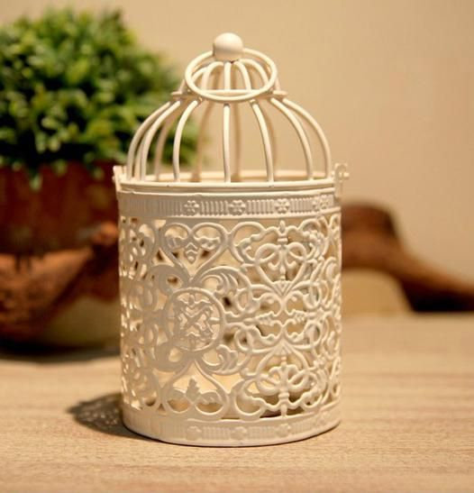 9.45 The Grocery European Pastoral Style Bird Cage Type Iron Lantern Creative Wedding Gift Wholesale Candle Holders Metal Candlestick Candle Hold, $8.64 | DHgate.com