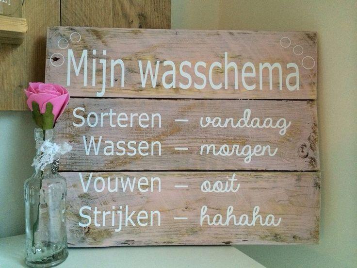 Wasschema