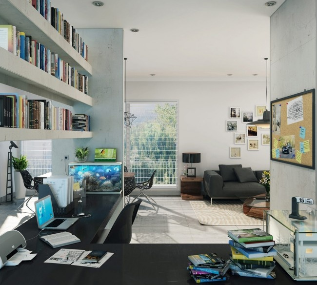 39 Stunning And Inspirational Home Cenima Design Ideas: 39 Best Office/ Study Designs Images On Pinterest