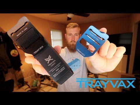 TRAYVAX Cinch Belt: Minimalist EDC Belt - Every Day Carry - EDC - YouTube