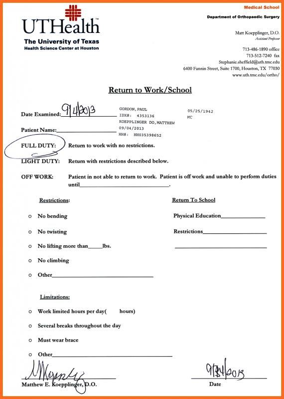 Pediatric Soap Note Doctors Note Template Doctors Note Dr Note
