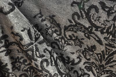 """""""Raffles"""", our stunning diminishing Damask design is a modern day twist on a classic Damask pattern."""