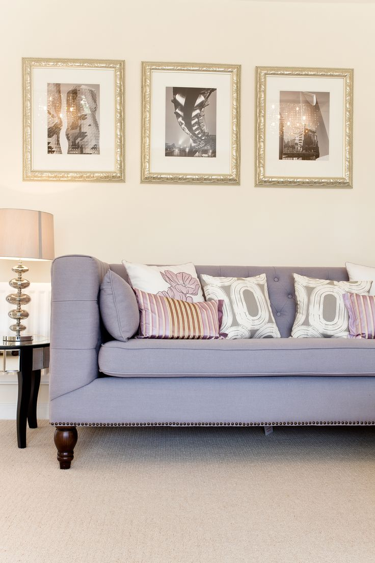 The living room in The Arundel at Buckby Meadows in Long Buckby | Bovis Homes
