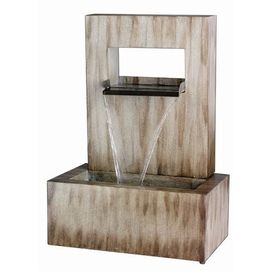 16 best images about kaemingk water features on pinterest for Outdoor wall fountains