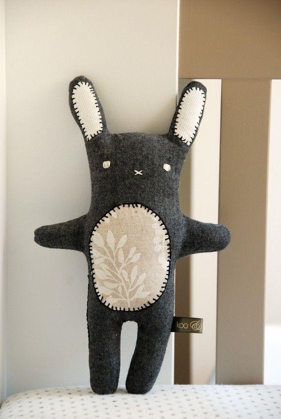 Cute Bunny Milly by kooandpoppet on Etsy
