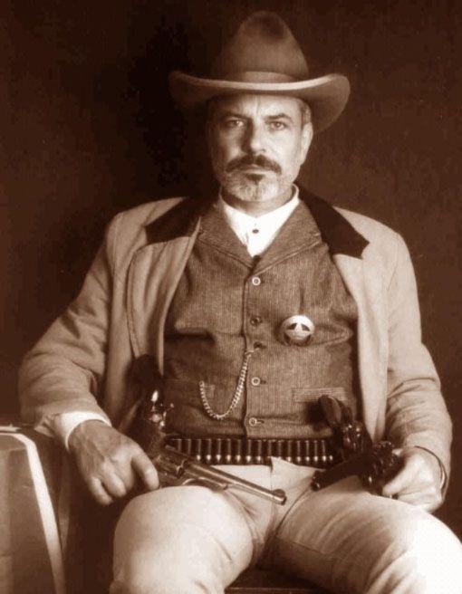 Deputy U.S. Marshal, Bud Ledbetter, 1898