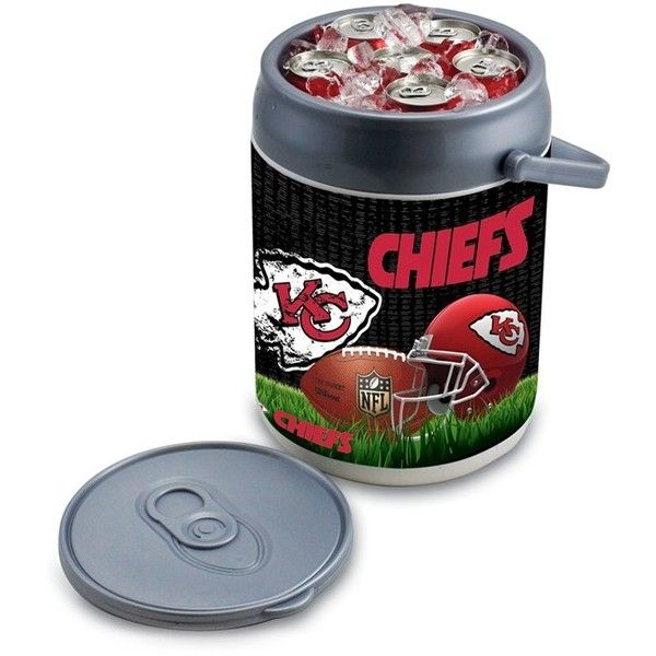 Picnic Time Football Print Can Cooler/seat (84 CAD) ❤ liked on Polyvore featuring home, kitchen & dining, food storage containers, kansas city chiefs, picnic cooler, picnic time cooler, picnic cooler tote and picnic time cooler tote