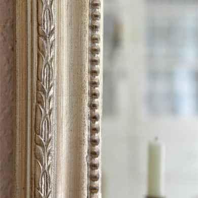 Fransk Spegel - Golden Antiquesilver patina - JDL