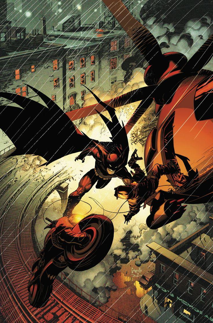 BATMAN #2 by Greg Capullo