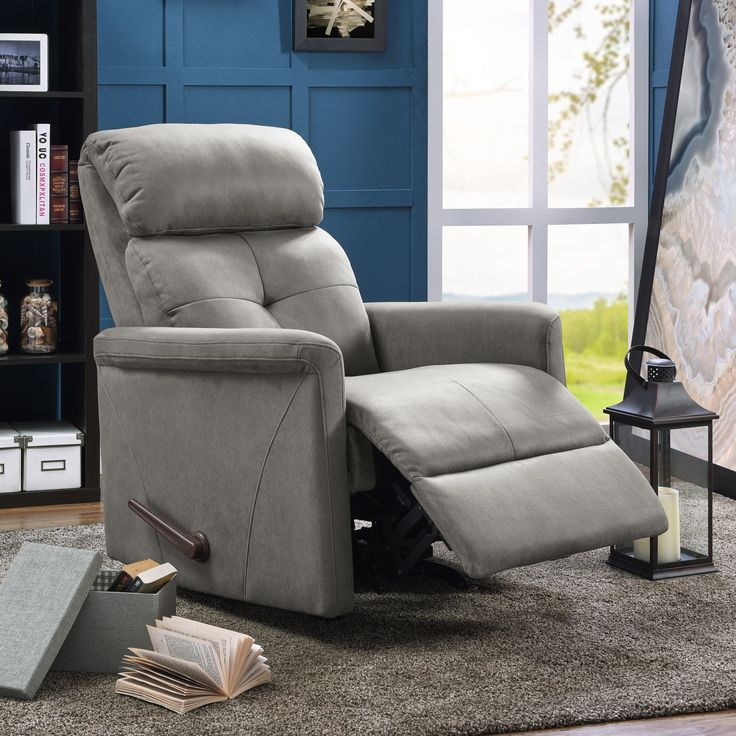 bedroom recliner. ProLounger Rocker Recliner Chair Grey Nubuck  Size Standard Polyester Best 25 recliner chair ideas on Pinterest Oversized
