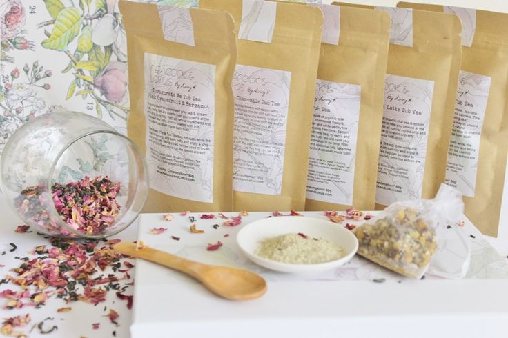 This all natural Cleopatra Tub Tea is a lovely blend of organic rose petals jasmine tea, epsom salts and oatmeal. This milky rose bath will have you feeling like Cleopatra in no time! The perfect way to unwind at the end of a busy day. With all natural ingredients and essential oils take the time to unwind with this beautiful Australian made bath soak. The rose petal powder will scent the bath water and also help to make skin soft and supple - added detoxifying zeolite and pastel pink…