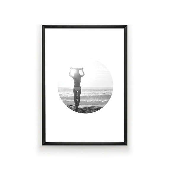 Surfer Photo Surf Photography Summer Art Surfer Poster #surfprint #instantdownload #surfer