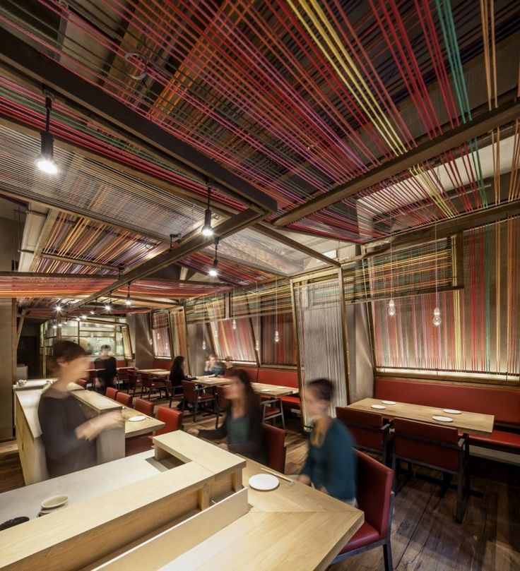 Japanese and Peruvian meet seamlessly in menu & design @ PAKTA Restaurant / El Equipo Creativo