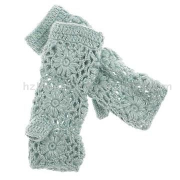 17 Best images about Crochet - Wrist warmers on Pinterest Ribs, Lace and Ea...