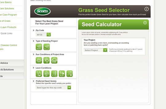 Scotts Grass Seed Selector (3 of 4)