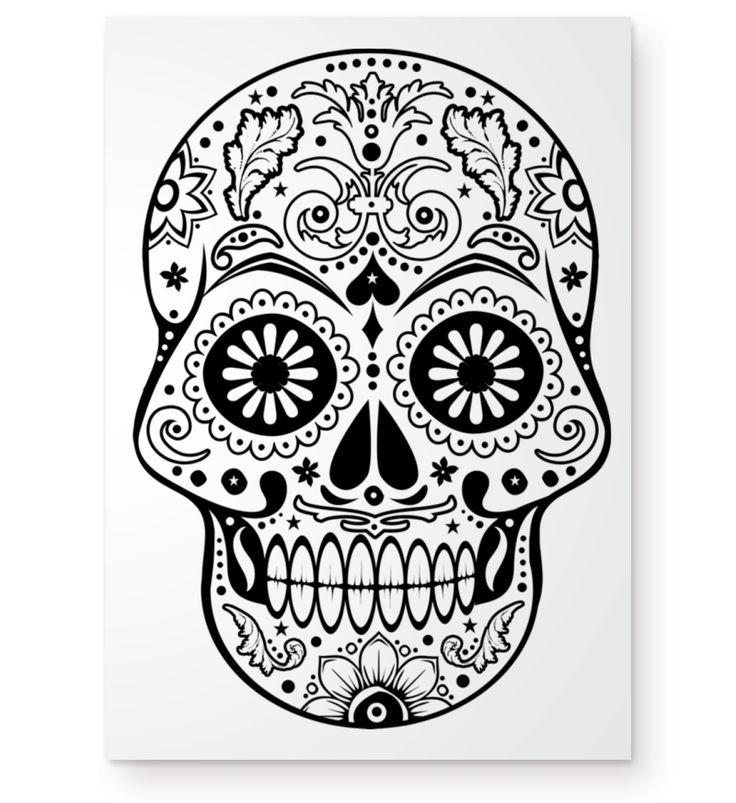 >>> zum EDDArts shop <<<Coole Message Ideen & Trend Designsby EDDA Fröhlich / EDDArtDieses Motiv zeigt einen Dia De Los Muertos SUGAR SKULL verziert mit Sternen! Für Horror- und Grusel Freunde, Gothic People und Totenkopf Liebhaber. Wenn Du es noch außergewöhnlicher magst, kreativ bist und gerne malst, dann ist dieses Design genau das Richtige für dich! Male dieses Motiv nach deinen eigenen Wünschen und Vorstellungen aus. Gestalte so dein individuelles Motiv. Auch ...