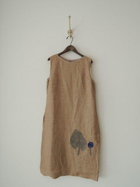 ミナペルホネン mina perhonen herbarium 刺繍ワンピース