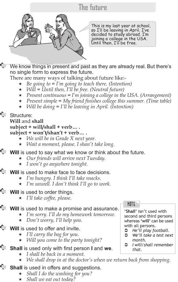 Grade 9 Grammar Lesson 12 The future