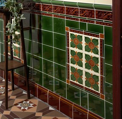 victorian porch wall tile - Google Search  Supplier is Craven Dunnill (Jackfield website)