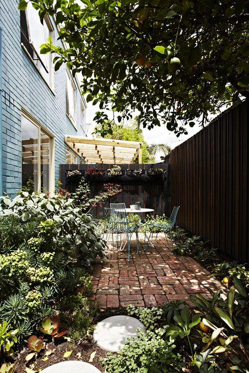sneak peek lisa breeze third favorite hideaway this private little inner - Private Patio Ideas