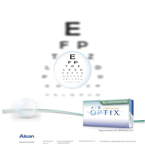 Lentes de contacto para gente con Astigmatismo. Ve por tus Air Optix for Astigmatism ¡ya!   #lentesdecontacto #salud #healthy #eyes