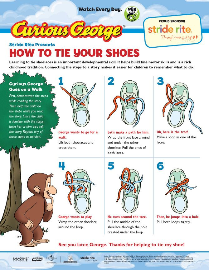 How To Tie Your Shoes For Kids (With images) | Tie shoes ...