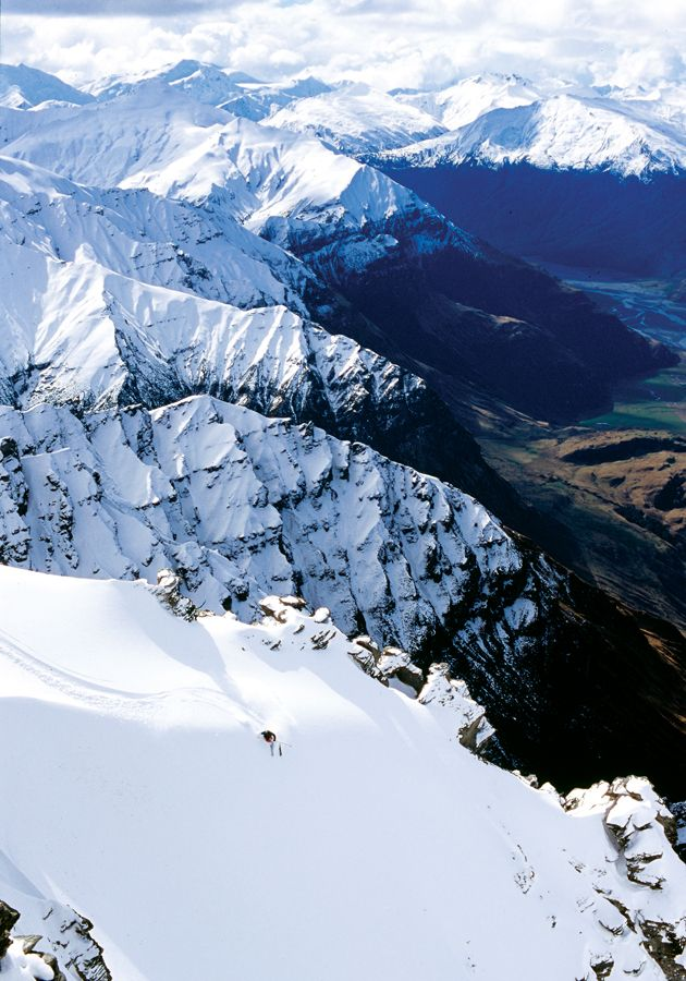 Treble Cone, South Island, NZ – Snowboarding, Backcountry, 2005
