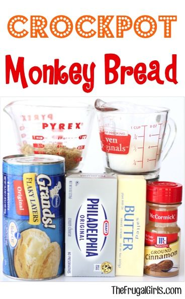 Crockpot Monkey Bread Recipe in Breakfast Recipes, Christmas, Crockpot Recipe, Dessert Recipes, Easter Recipes, Recipes #breakfast #recipe #thursday #recipes #brunch