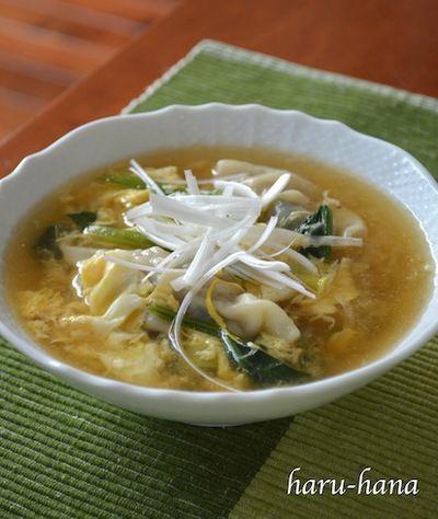 胃に優しい餃子スープ☆ by haru-hanaさん | レシピブログ - 料理 ...