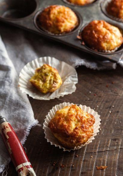 Mini quiches jambon & fromage à la manière d'un muffin - Recette   Trois fois par jour