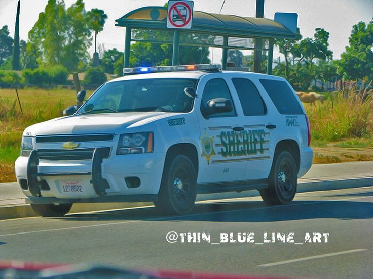 Tulare county Sheriffs adept Chevy Tahoe. #tularecounty#tulareca #chevy #chevytahoe #chveytahoepolice #lightbar #pushbar #spotlights #centercaps #police #policecar #sheriffcar #sheriff #highwaypatrol #statepolice #statetrooper #supportlawenforcement #lawenforcement #supportourlawenforcement #thinbluelineart #backtheblue ##thinblueline #tulare #tulareca #cali #california by thin_blue_line_art