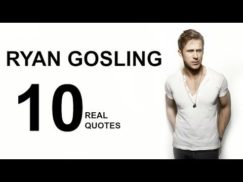 Most Successful Canadian actor actor Ryan Gosling top 10 Real Life Inspiring Motivational Quotes on success,secret Rules, Positive thought. Ryan Thomas …
