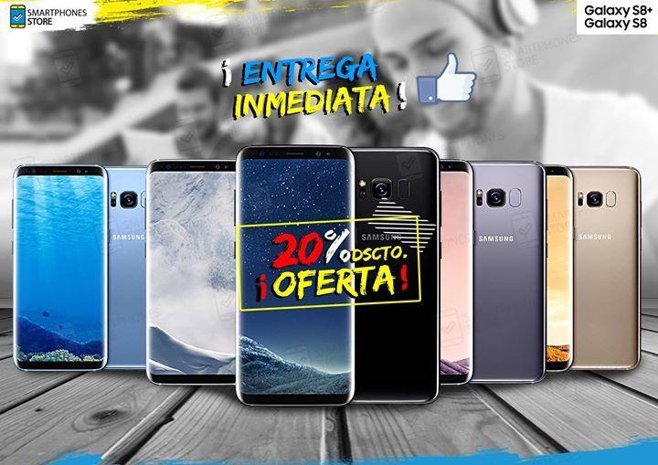OFERTA EN TODOS LOS S8/S8PLUS ✈📦 SOMOS IMPORTADORES DE EEUU ✈📦 💯 #EquiposOriginales #CajaSellada #LibreDeFabrica #SinLogoDeOperador 📲 Enviar un inbox ó comunicarse al 922 552 003(Whatsapp) 🚛 Hacemos #Delivery a Lima Metropolitana y Provincias. 💳 Aceptamos Todas las Tarjetas de Crédito #Visa #Mastercard 💳 #Garantía de Fabrica 6 meses / 1 año 🏪 Tenemos 4 tiendas fisicas: Lima Centro Cyberplaza, Galaxy Plaza Chorrillos, SMP y San Miguel.  facebook…
