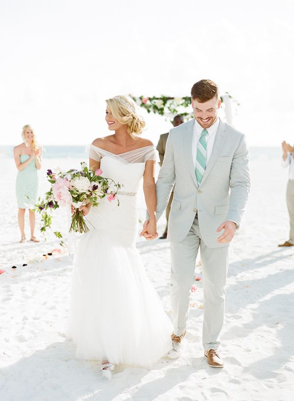 small beach wedding ceremony ideas%0A Intimate Beach Wedding by Kylie Swanson and Aaron Snow