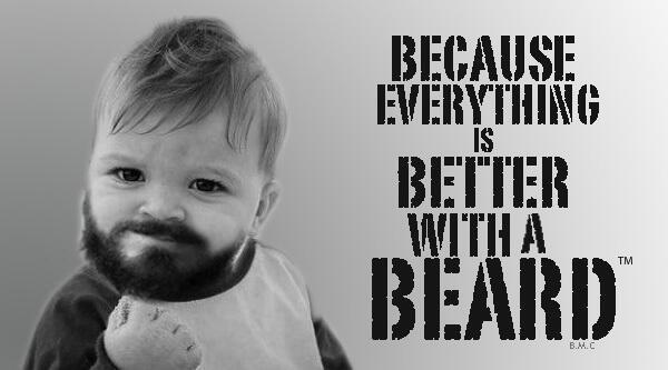 Why Do I Grow A Beard? #BeardPower From Beardoholic.com