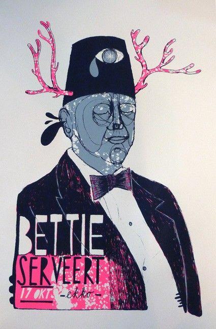 Bettie Serveert | GIG POSTERS | jorisdiks