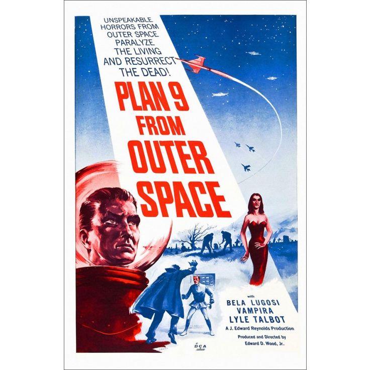 Pôster Plano 9 do Espaço Sideral