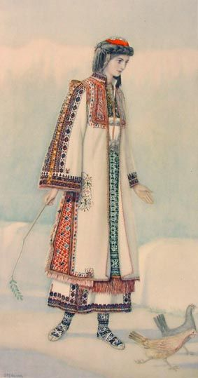 TRAVEL'IN GREECE I Peasant Woman's Dress (Macedonia, Hasia)
