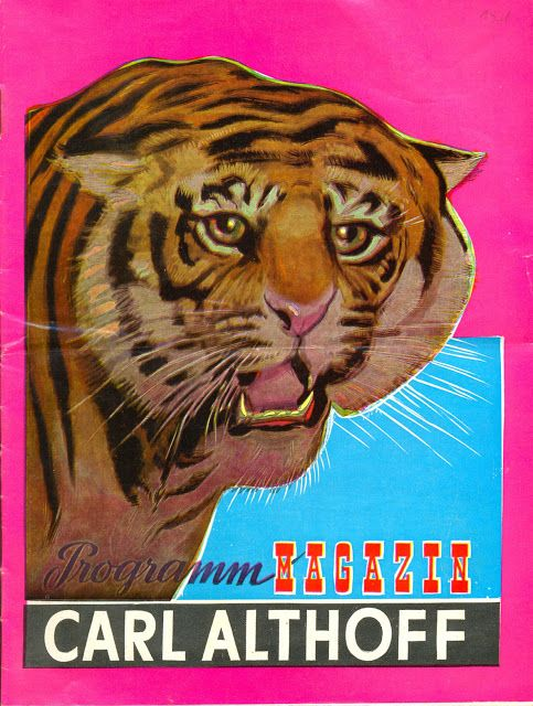 Circus collection: Zirkus Carl Althoff 1961