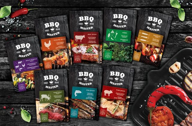 BBQ Master on Packaging of the World - Creative Package Design Gallery