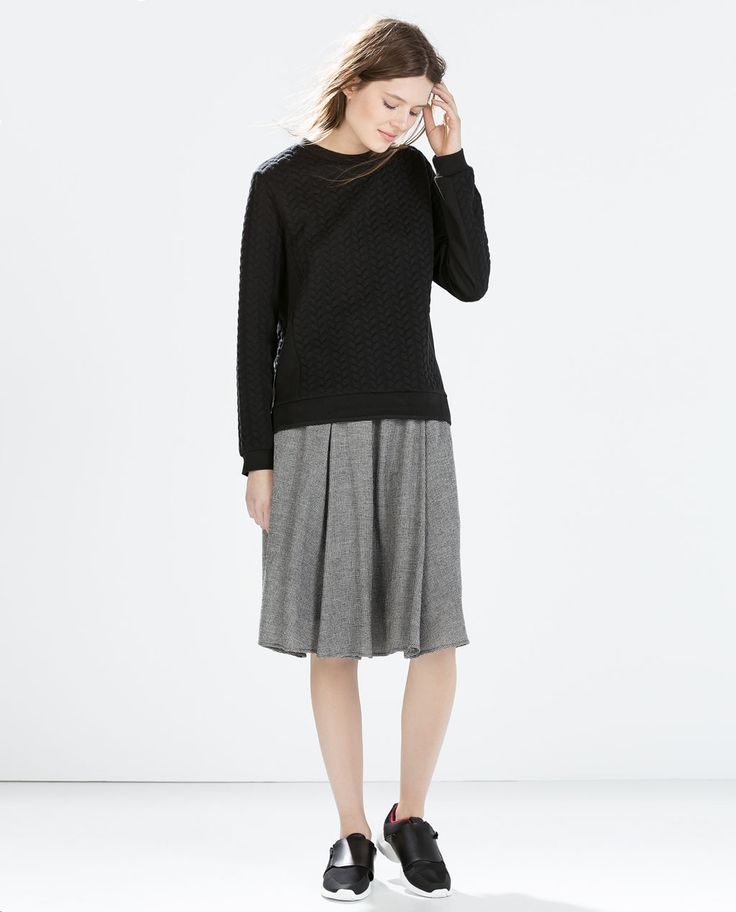 SKIRT WITH ELASTIC WAIST