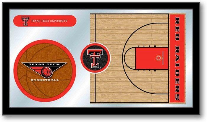 Texas Tech Red Raiders Basketball Sports Team Mirror at SportsFansPlus.com. Visit website for details!