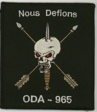 19th Special Forces Group Pocket Patches Operational Detachment A-965 C Company, 2nd Battalion