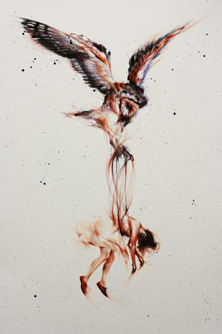 Vogel der Melancholie