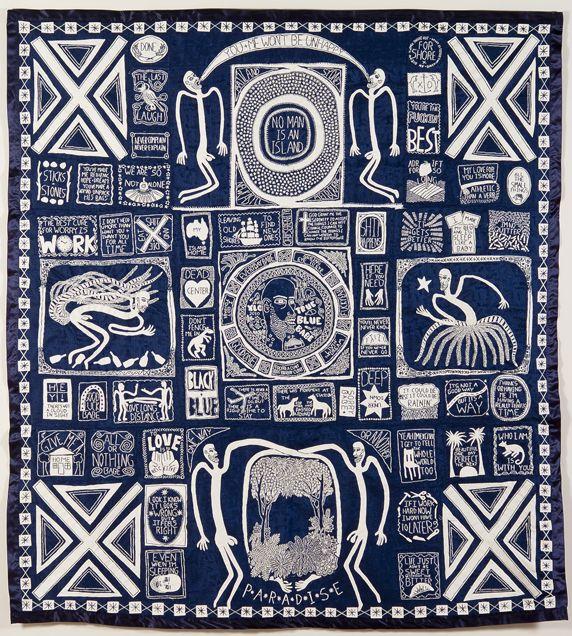 Newcastle Art Gallery - Australia (Lucas Grogan True blue babe 2010)