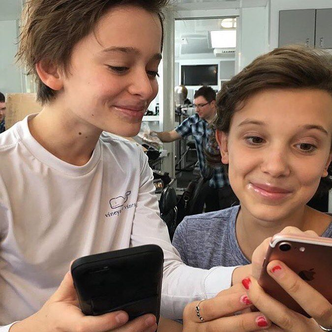 1 302 Likes 21 Comments Colleen Favmillie On Instagram The Cutest Best Friends Mil Stranger Things Actors Stranger Things Funny Stranger Things