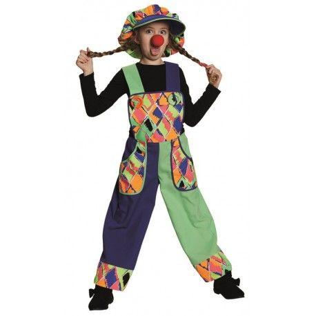Déguisement clown salopette enfant