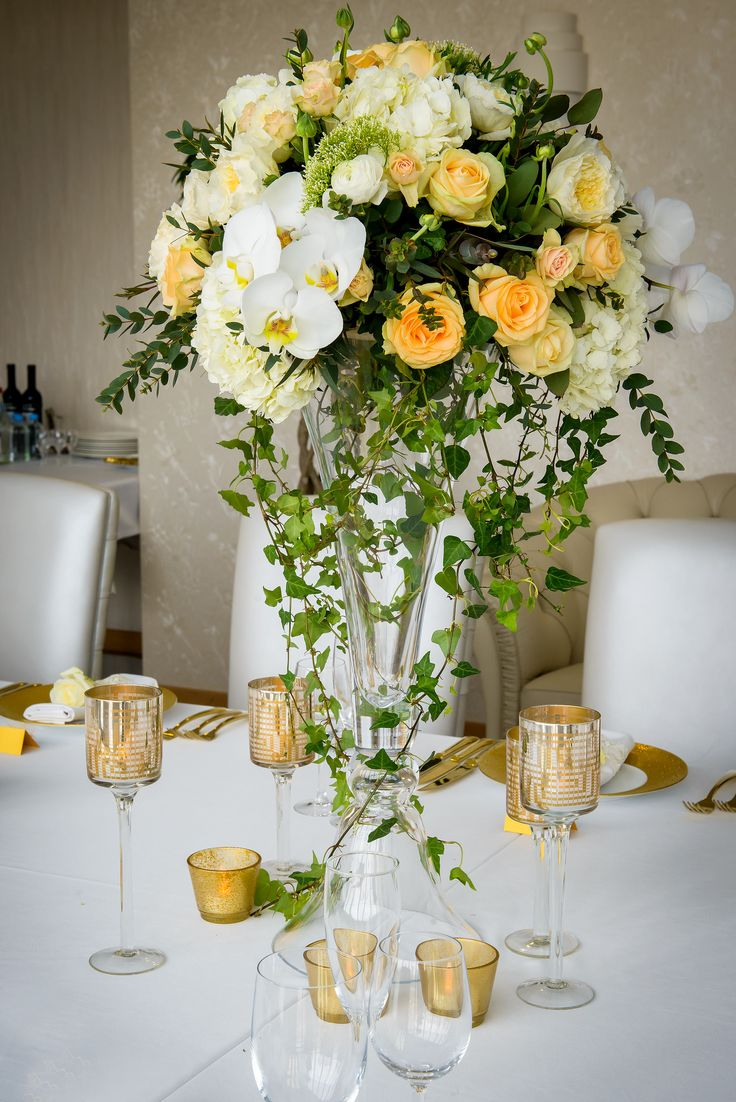 Classical wedding reception