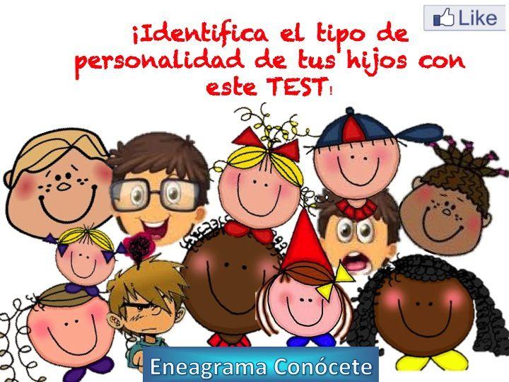 Test para descubrir la personalidad de tus hijos!